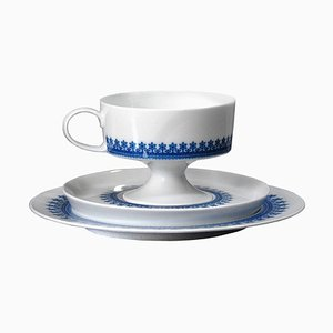 German Breakfast Set by Tapio Wirkkala for Rosenthal, 1960s
