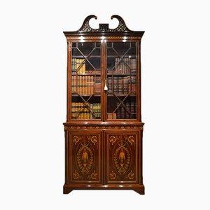 Armoire Antique en Acajou de Edwards & Roberts