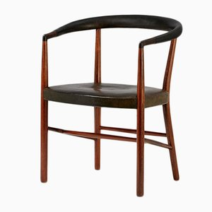 Danish Rosewood UN Armchair by Jacob Kjaer for Christensen & Larsen, 1949
