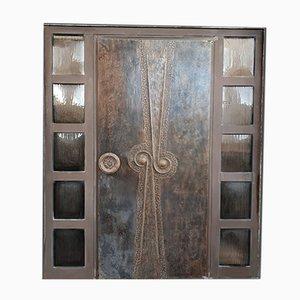 Brutalist Door, 1970s