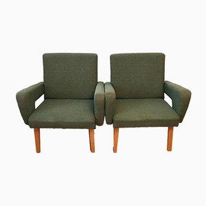 Grüne Sessel von Jitona, 1960er, 2er Set