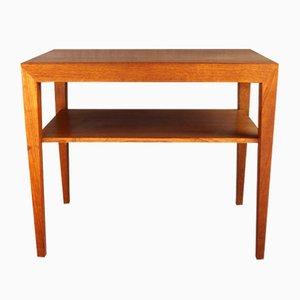 Tavolino in teak di Severin Hansen per Haslev Møbelfabrik, anni '60