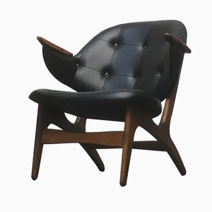 Model 33 Lounge Chairs by Carl Edward Matthes, 1950s, Set of 3