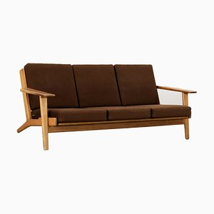 Model GE 290 Three-Seater Teak Sofa by Hans J. Wegner for Getama, 1955