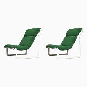Poltrone modello 2011 di Bruce Hannah & Andrew Morrison per Knoll Inc., anni '70, set di 2