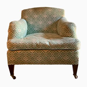 Sessel mit Füßen aus Mahagoni von Howard & Sons für Lenygon & Morant, 1954