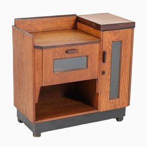 Mueble Escuela de la Haya Art Déco de roble de Piet Izeren para De Genneper Molen, años 20