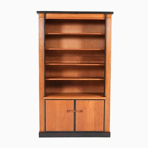 Art Deco Hague School Oak Bookcase by Jan Brunott, 1920s