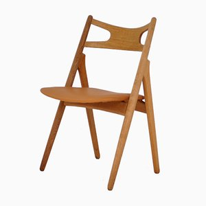 Danish Oak CH29 Dining Chair by Hans J. Wegner for Carl Hansen, 1960s