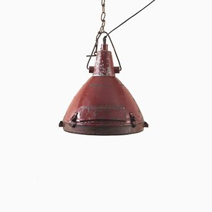 Large Vintage Industrial Ceiling Lamp