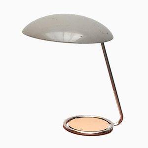 Lampada da tavolo in metallo di Christian Dell per Kaiser Leuchten, Germania, anni '50