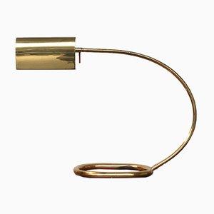Deutsche Mid-Century Tischlampe aus Metall von Cosack, 1960er
