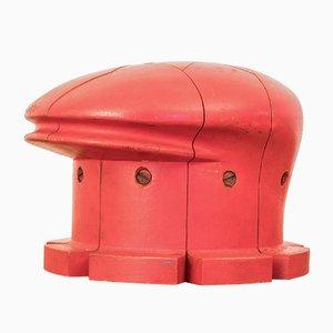 Antique Italian Wooden Hat Block