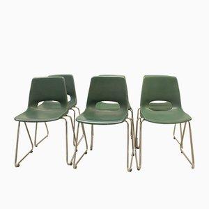Esszimmerstühle aus Kunststoff von Marko, 1970er, 6er Set