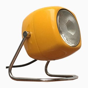 Space Age Italian Metal Table Lamp from Harveiluce, 1970s