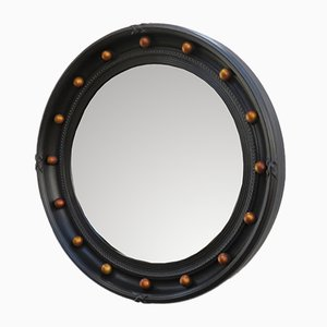 English Butler's Porthole Convex Mirror from Atsonea, 1930s