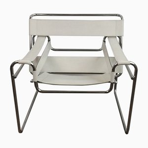 Italian Wassily Lounge Chair by Marcel Breuer, 1980s