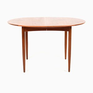 Danish Extendable Teak Dining Table, 1950s