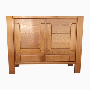 French Elm Buffet from Maison Regain, 1970s