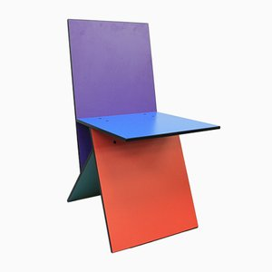 Scandinavian Modern Vilbert Dining Chair by Verner Panton for Ikea, 1993