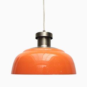 Lampada KD7 in metallo di Achille, Pier Giacomo Castiglioni per Kartell, Italia, anni '50