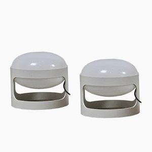 Italian KD27 Table Lamps by Joe Colombo for Kartell, 1960s, Set of 2