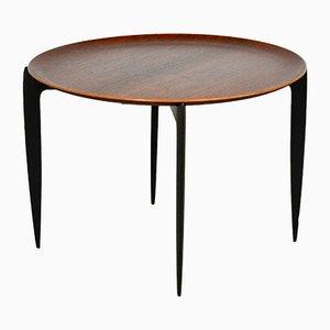 Tabletttisch aus Holz von Svend Åge Willumsen für Fritz Hansen, 1950er