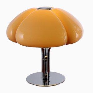 Lámpara de mesa Quadrifoglio italiana de Gae Aulenti para Guzzini, años 60