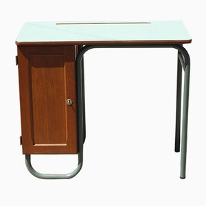 Vintage Desk by Jacques Hitier for Mobilor, 1950s
