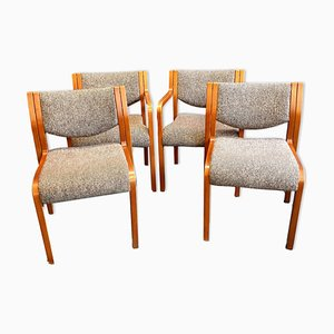 Vintage Dining Chairs from Tract, Set of 4