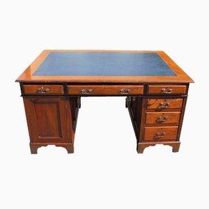 Vintage Mahogany Desk, 1920s