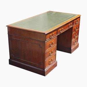 Mid-Century Mahogany Desk, 1940s