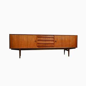 Sideboard aus Teak von Oswald Vermaercke für V-Form, 1950er