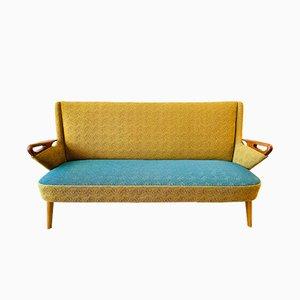 Dänisches Sofa mit Gestell aus Teak von Chresten Findahl Brodersen für Findahl Mobelfabrik, 1950er
