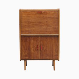 French Wooden Secretaire, 1950s