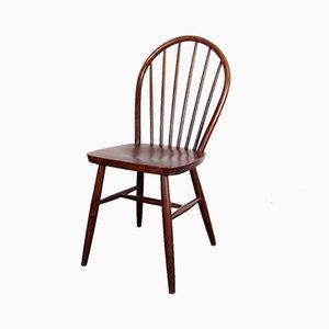 Mid-Century Esszimmerstühle mit Holzgestell, 1960er, 4er Set