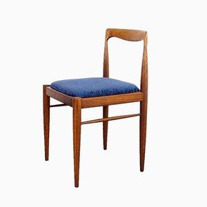 Sedie da pranzo Mid-Century in legno, anni '60, set di 4