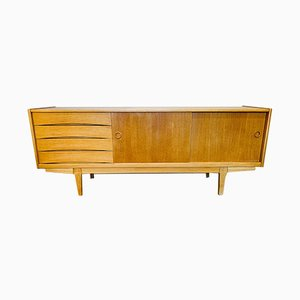 Swedish Oak Sideboard, 1960s