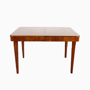 Vintage Art Deco Wooden Dining Table, 1930s