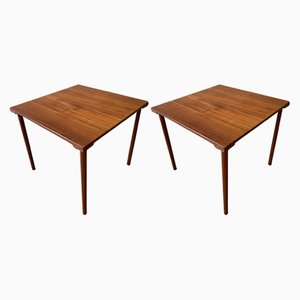 Tables d'Appoint en Teck de France et Daverkosen, 1960s, Set de 2