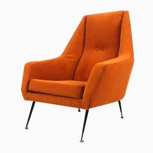 Italienischer Mid-Century Sessel, 1950er