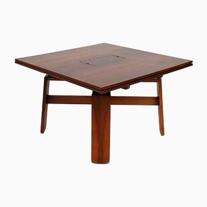 Square Italian Extendable Dining Table by Silvio Coppola for Bernini, 1980s