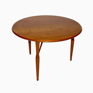 Mid-Century Cherry Side Table by Josef Frank for Svenskt Tenn, 1950s