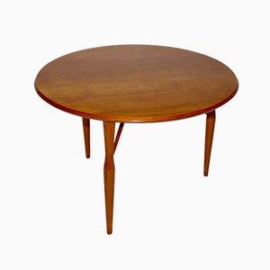 Tavolino Mid-Century in legno di ciliegio di Josef Frank per Svenskt Tenn, anni '50