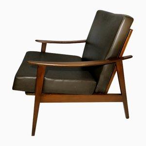 Scandinavian Modern Teak Armchair, 1960s