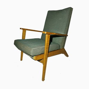 Scandinavian Modern Oak Model P681 Armchair from Parker Knoll, 1950s