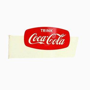 Deutsches Mid-Century Coca Cola Schild, 1950er