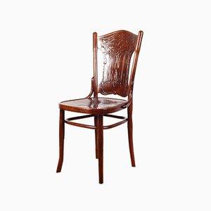 Chaise no.67 Art Nouveau Antique de Jacob & Josef Kohn, 1900s