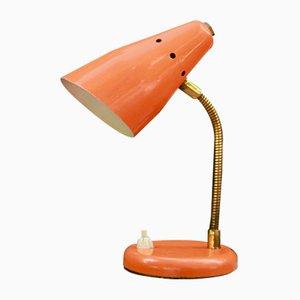 Italienische Mid-Century Arancino Tischlampe aus Eisen, 1950er