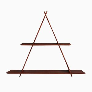 Vintage Danish Teak Hanging Shelves by Peder Moos